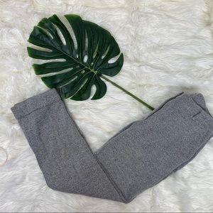WHBM Girlfriend Herringbone Pants, Sz 4